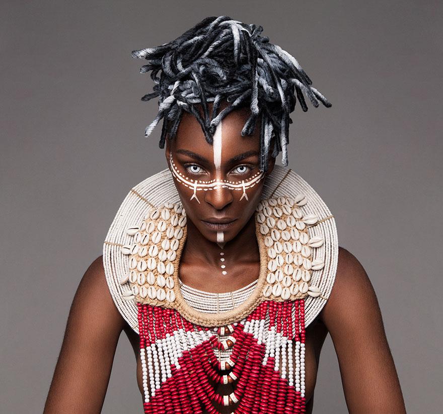 Frumusete feminina in cultura africana - Poza 13