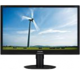 Monitor IPS LED Philips 23inch 231S4QCB/00, Full HD (1920 x 1080), DVI-D, VGA, 7ms GTG (Negru)