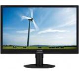 Monitor IPS LED Philips 23inch 231S4QCB/00, Full HD (1920 x 1080), DVI-D, VGA, 7ms GTG (Negru)