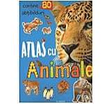 Atlas Cu Animale - Cu 80 Abtibilduri