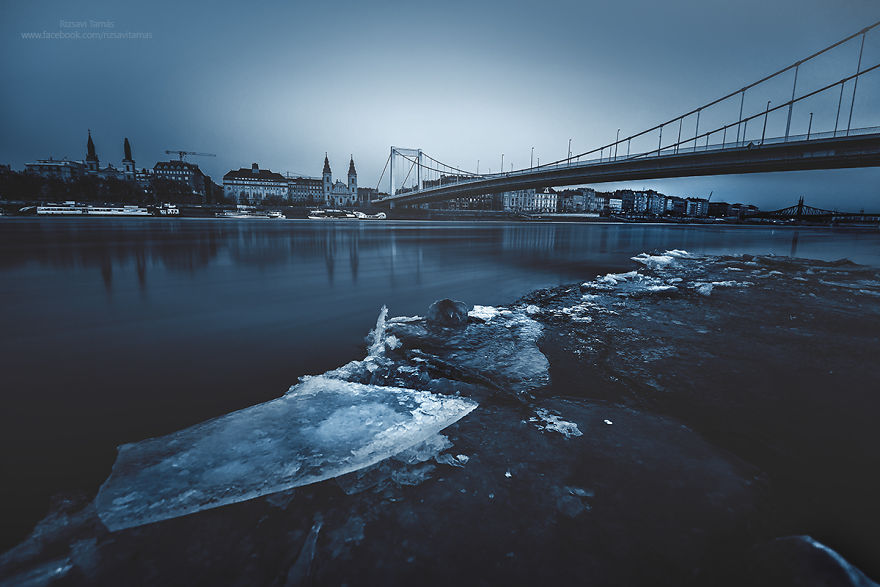 Frumusetea Dunarii inghetate, in poze superbe - Poza 7