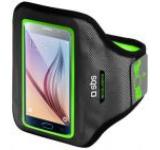 Centura Brat SBS ACCELERATE TEARMACCELXLG, XL, pentru telefoane pana la 5 inch (Gri/Verde)