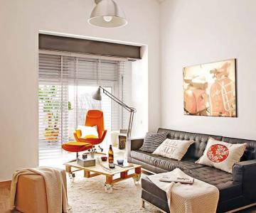 Fiecare cm patrat de spatiu folosit: Apartament la Barcelona
