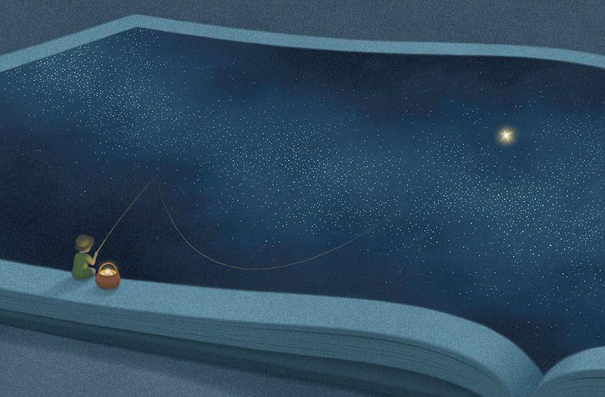 Capodopere literare, in ilustratii suprarealiste - Poza 10