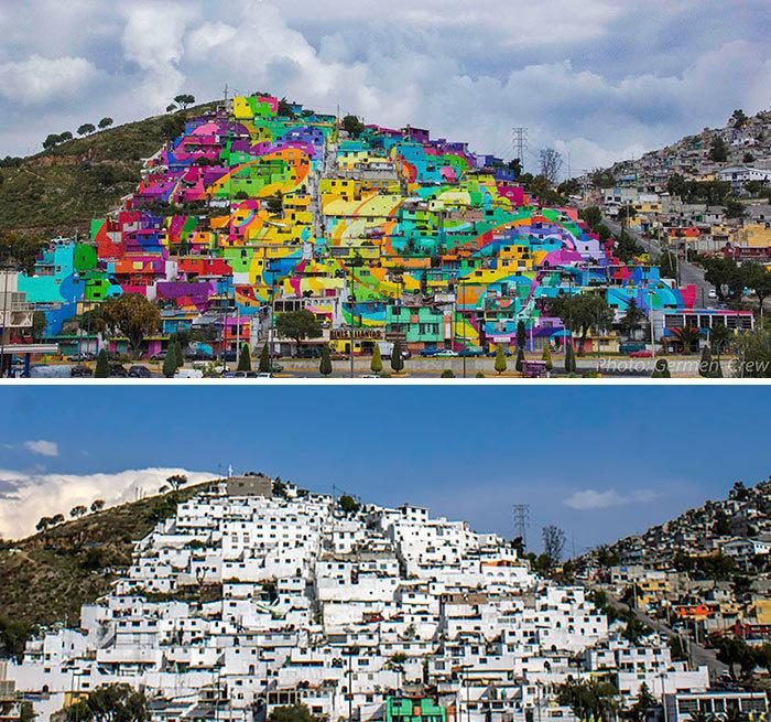 Arta stradala: Cele mai frumoase picturi pe cladiri - Poza 11