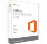 Microsoft Office Home and Business 2016, 32/64bit, Limba Romana, FPP/Medialess