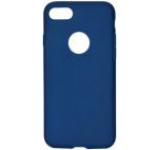 Protectie spate Procell PRSILSLKIPH7AI Silicon Silky pentru Apple iPhone 7/7S (Albastru inchis)