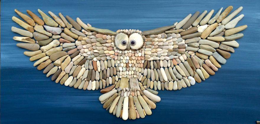 Creatii artistice cu pietre - Poza 2