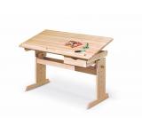 Masa de birou pentru copii Julia, L109xl55xh63-96 cm