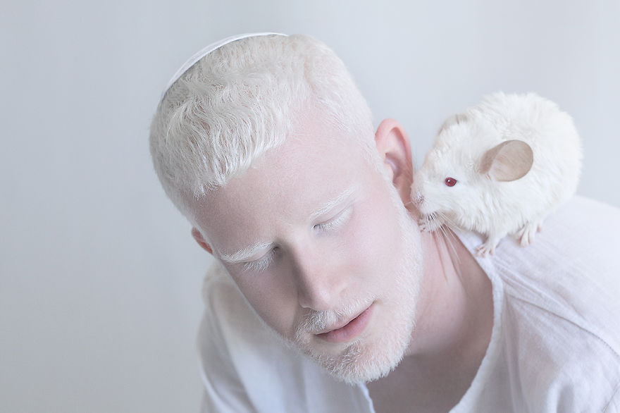 Frumusete de portelan: Splendoarea oamenilor albinosi - Poza 7