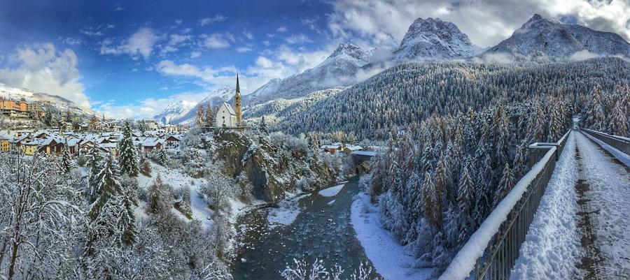 Cele mai frumoase ipostaze ale iernii, in poze sublime - Poza 17