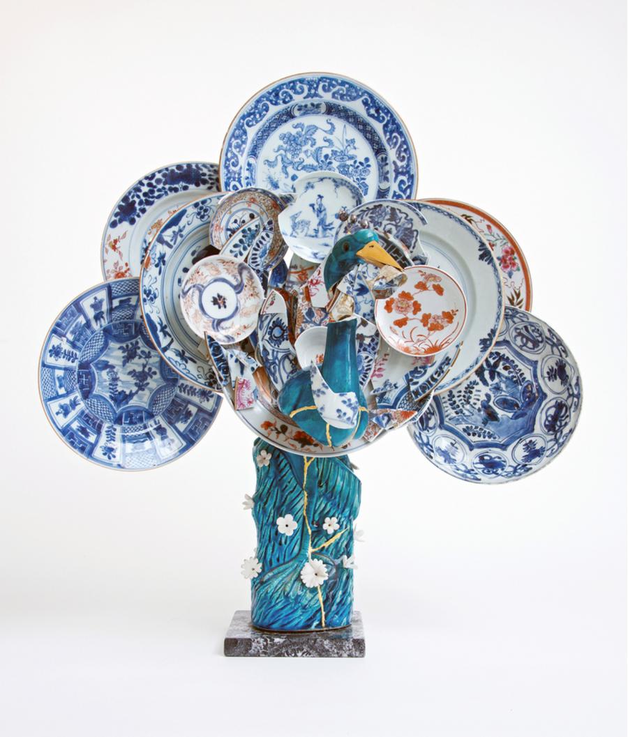 Arta cu cioburi de ceramica: Stari noi pentru obiecte vechi - Poza 9