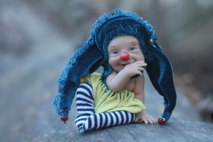 Papusi realiste superbe, de Elena Kirilenko - Poza 12