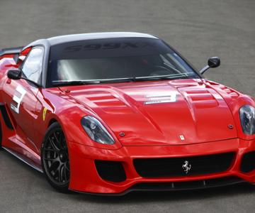 Experimentul Ferrari 599XX