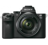 Aparat Foto Mirrorles Sony Alpha 7 II + Obiectiv 28-70mm, 24.3 MP, Filmare Full HD (Negru)