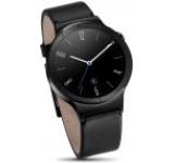 Smartwatch Huawei Watch W1, Amoled 1.4inch, 512MB RAM, 4GB Flash, Bluetooth, Bratara piele 42mm, Carcasa din Otel Inoxidabil (Negru)