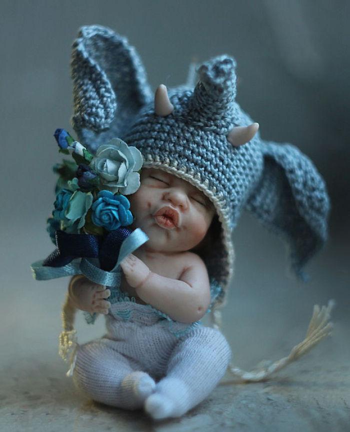 Papusi realiste superbe, de Elena Kirilenko - Poza 16