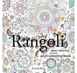 Rangoli Stress-Relieving Art Therapy Adult Colouring Book