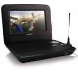 DVD Player Portabil Philips PD7015/12, LCD TFT 7inch, USB (Negru)