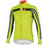 Tricou cu maneca lunga Castelli Free 3, Verde Fluo, Masura XXL (Verde)