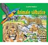 Animale salbatice - carte puzzle