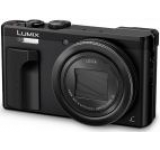Aparat Foto Digital Panasonic DMC-TZ80EP-K, 18.1 MP, 1/2.3inch CCD, Filmare 4K, Zoom Optic 30x, Wi-Fi (Negru)