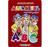 Alfabetul - Carte de colorat cu exercitii grafice (format B5)