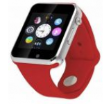 Smartwatch cu Telefon iUni A100i 1294-4, BT, LCD Capacitive touchscreen 1.54 Inch, Camera (Rosu)