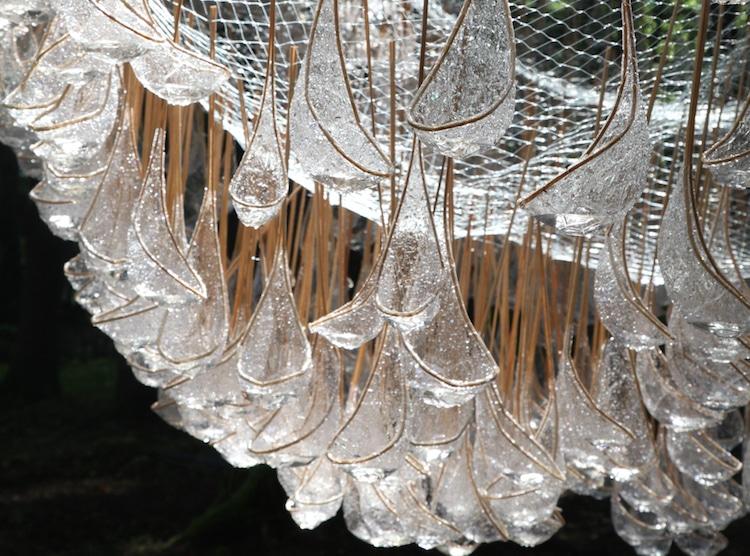 Cum arata un candelabru viu, din picaturi de ploaie - Poza 5