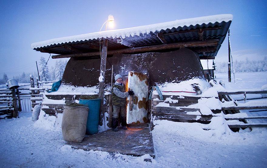 Viata la -50 de grade Celsius, in imagini sublime - Poza 11