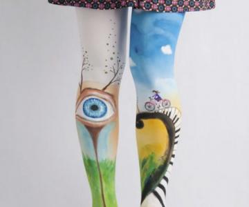 Se poarta arta: Picturi pe care le poti imbraca