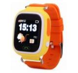 Smartwatch iUni Kid100 9962-2, 1.22inch, GPS, Bratara silicon, dedicat pentru copii (Portocaliu)