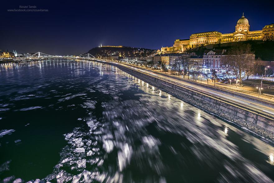 Frumusetea Dunarii inghetate, in poze superbe - Poza 10