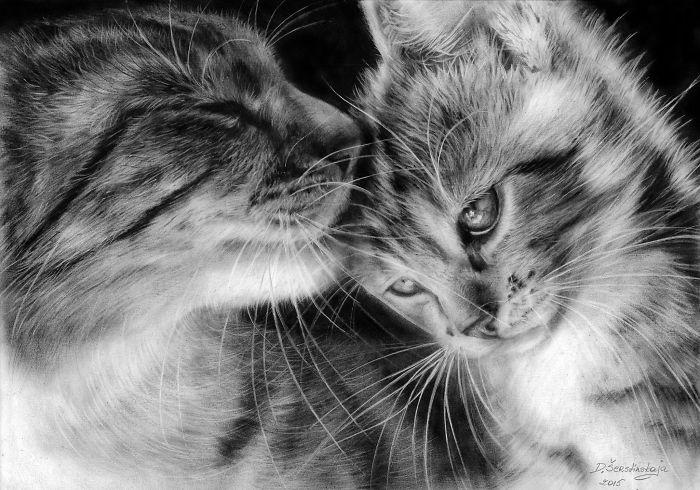Arta realistica: Lumea animala, in picturi superbe - Poza 1