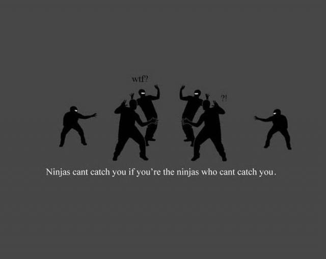 Ninja nu pot sa te prinda - Poza 18
