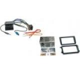 Pachet Rama adaptare Player CD 2-DIN + Adaptor si cablu antena radio pentru Seat/Skoda/VW (Negru)