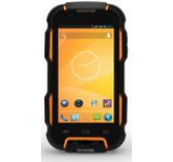 Telefon Mobil Tecmobile Titan 600 EVO, Procesor Quad-Core 1.3GHz, TFT IPS Capacitive touchscreen 4inch, 1GB RAM, 8GB Flash, 8MP, Wi-Fi, 3G, Android, Dual Sim, Rezistent la apa si praf IP67 (Negru/Galben)