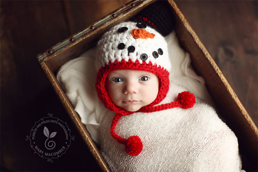 15+ Bebelusi adorabili in asteptarea Craciunului - Poza 9