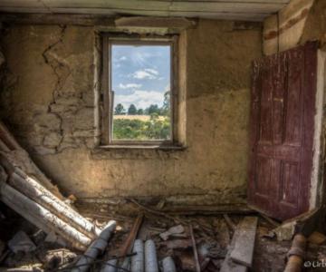 Ferestrele magice: Aduc un aer viu cladirilor abandonate