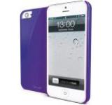 Husa Muvit Glossy pentru iPhone 5 (Mov)