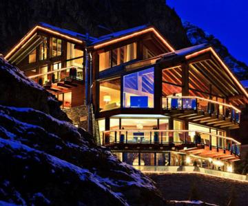 La 6 stele, in Alpii elvetieni