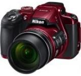 Aparat Foto Digital NIKON COOLPIX B700, Filmare 4K, 20.3 MP, Zoom Optic 60x, 3inch LCD, WiFi (Rosu)