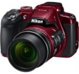 Aparat Foto Digital NIKON COOLPIX B700, Filmare 4K, 20.3 MP, Zoom Optic 60x, 3inch LCD, WiFi (Rosu)
