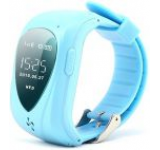 Smartwatch iUni U11, OLED 0.96inch, 2G, GPS, Bratara silicon, dedicat pentru copii (Albastru)