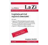 Legislatia privind registrul comertului (actualizat la 01.06.2010). Cod 392