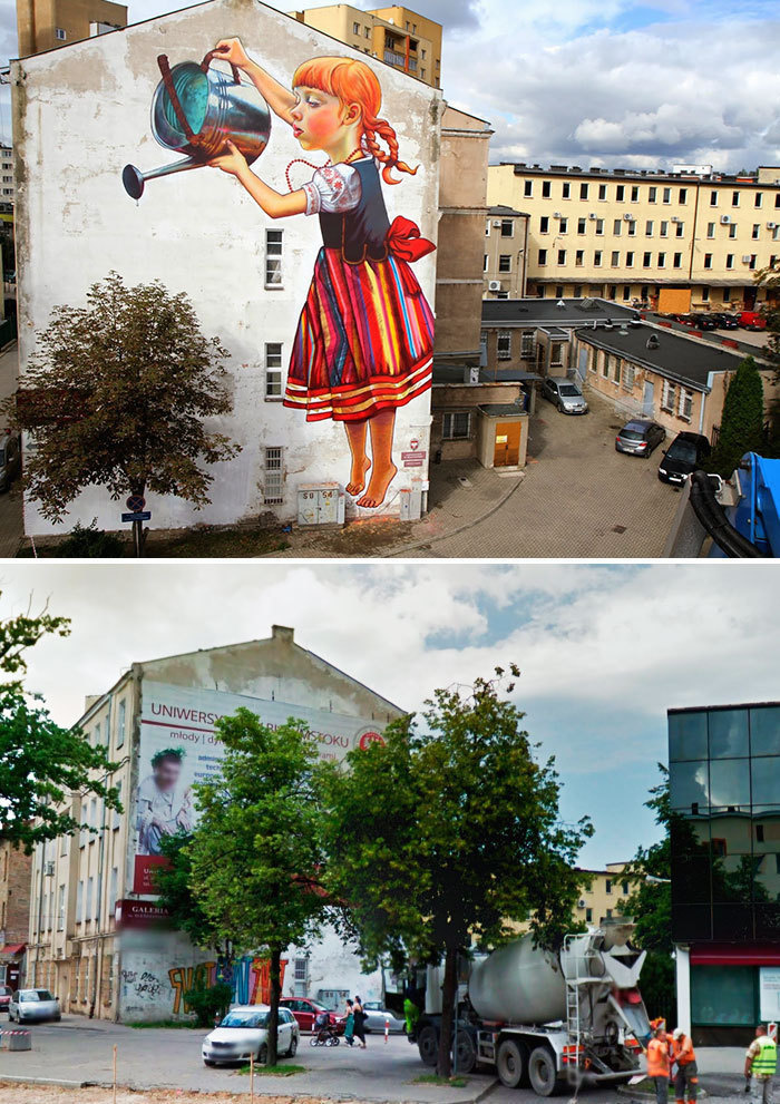 Arta stradala: Cele mai frumoase picturi pe cladiri - Poza 3