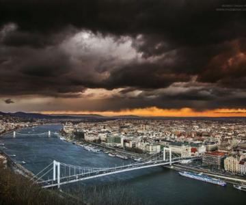 Budapesta, de sus in jos, in poze superbe