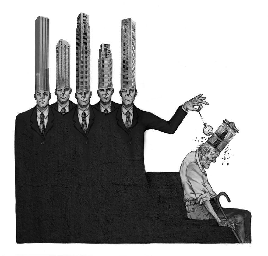 Problemele societatii actuale, in ilustratii rascolitor de sincere - Poza 12