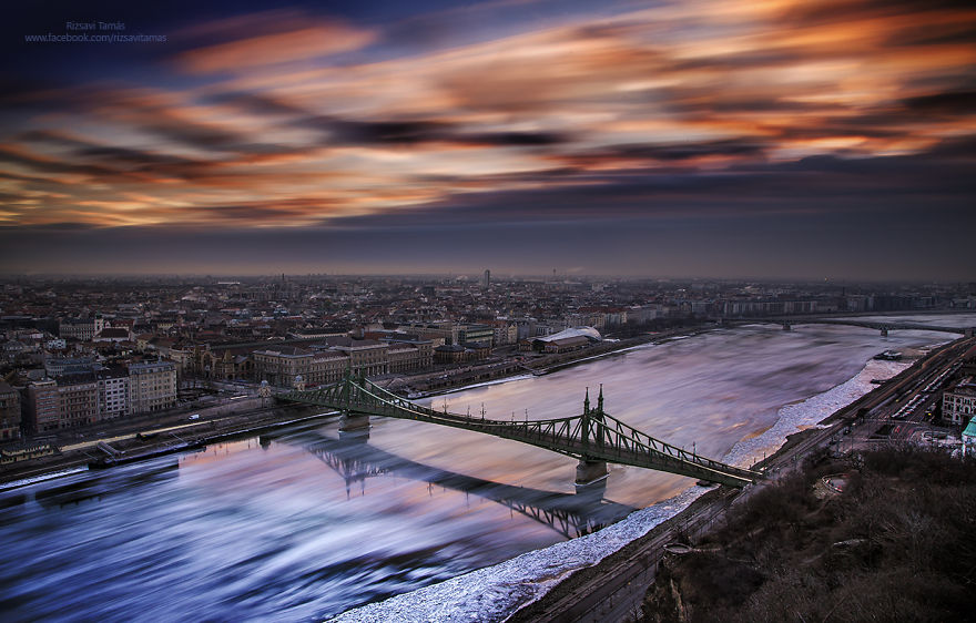 Frumusetea Dunarii inghetate, in poze superbe - Poza 6