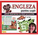 Engleza pentru copii - Jocuri distractive cu litere si cuvinte